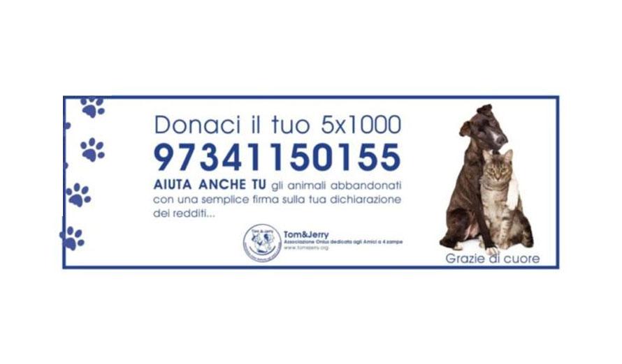 Donaci il tuo 5 x mille