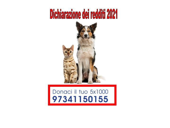 Aiutaci a salvare gli animali con il tuo 5 x 1000