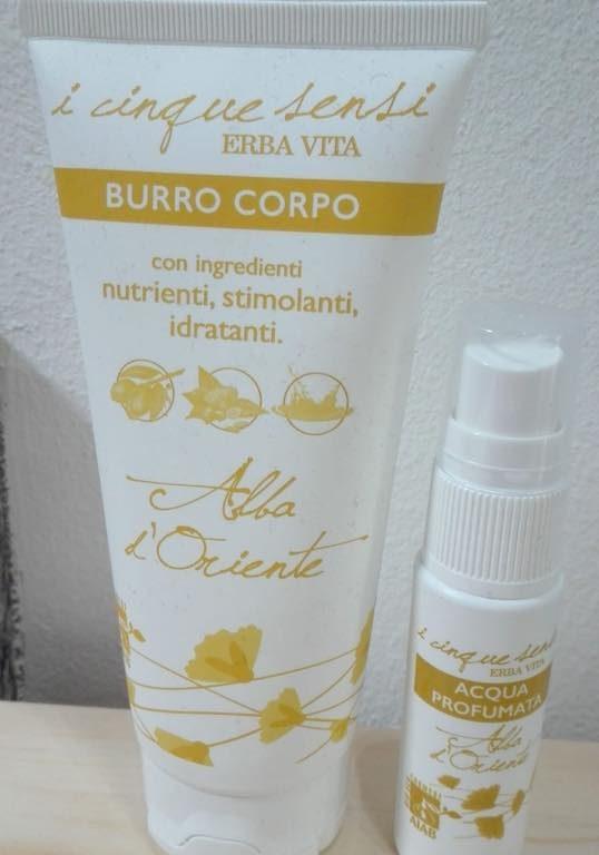 Burro corpo+acqua profumata