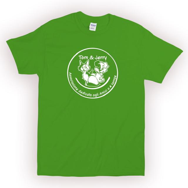 T-SHIRT donna verde chiaro